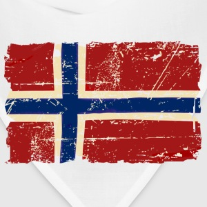Norway Flag - Vintage Look T-Shirts - Bandana