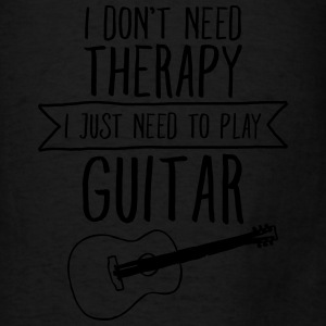 I Don't Need Therapy - I Just Need To Play... Bags & backpacks - Men's T-Shirt