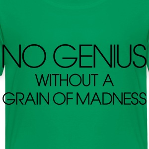 No genius Kids' Shirts - Toddler Premium T-Shirt