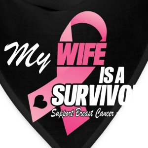 My Wife Is A Survivor T-Shirts - Bandana