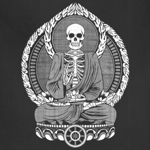 Starving Buddha Skeleton Hoodies - Adjustable Apron
