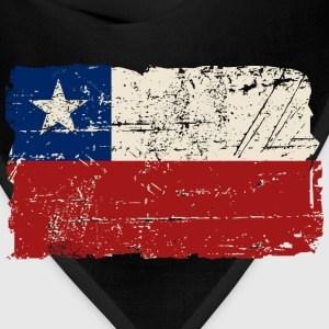 Chile Flag - Vintage Look T-Shirts - Bandana