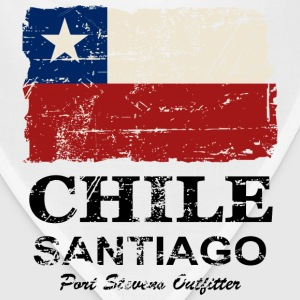 Chile Flag - Vintage Look Women's T-Shirts - Bandana