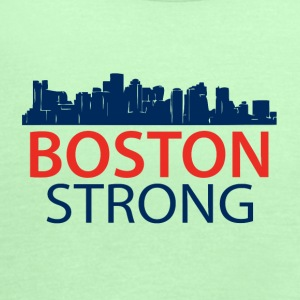 Boston Strong - Skyline - Women's Flowy Tank Top by Bella