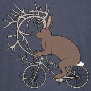 Jackalope Riding Bike With It's Antler Bike Hoodies - Vintage Sport T-Shirt