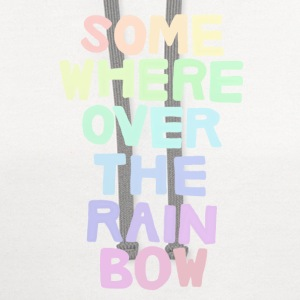 Somewhere Over the Rainbow - Contrast Hoodie