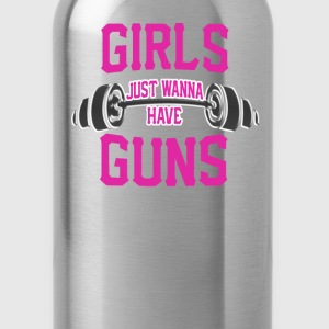 Girls just wanna have guns - Water Bottle