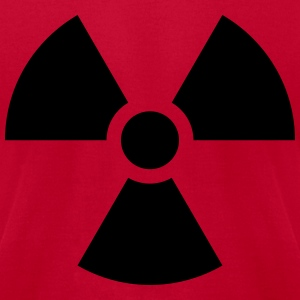 Radioactive Nuclear Danger Hoodies - Men's T-Shirt by American Apparel