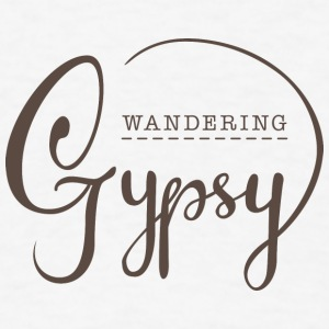 Wandering Gypsy - Men's T-Shirt
