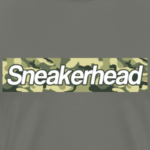 sneakerhead camo bar Hoodies - Men's Premium T-Shirt