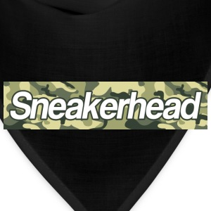 sneakerhead camo bar Hoodies - Bandana
