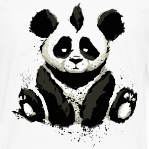 Cool Panda Bear Design - Men's Premium Long Sleeve T-Shirt