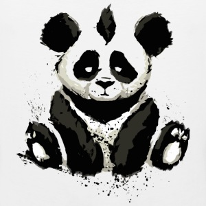 Cool Panda Bear Design - Men's Premium Tank