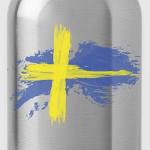 sweden flag awesome Baby & Toddler Shirts - Water Bottle