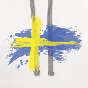 sweden flag awesome Women's T-Shirts - Contrast Hoodie