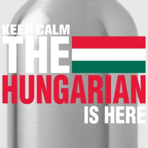 Keep Calm Fear The Hungarian Is Here - Water Bottle