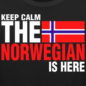 Keep Calm Fear The Norwegian Is Here - Men's Premium Tank