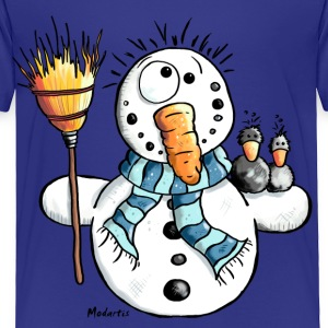 Funny Snowman Kids' Shirts - Toddler Premium T-Shirt