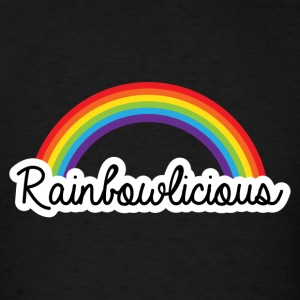 Rainbowlicious LGBT Rainbow Pride Tanks - Men's T-Shirt