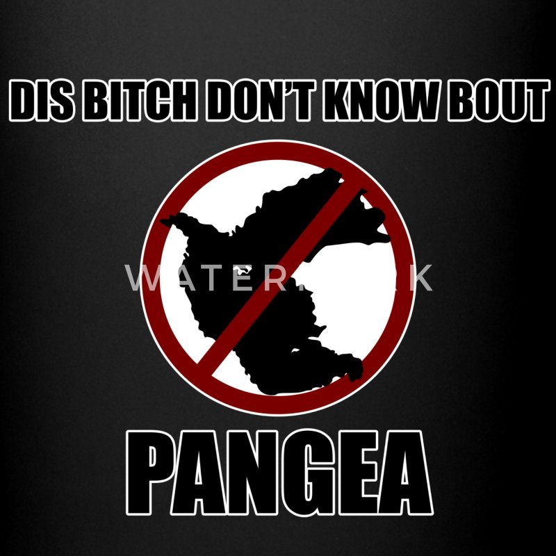 dis bitch dont know bout pangea - Full Color Mug