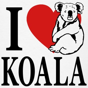 I love Koala Hoodies - Men's T-Shirt