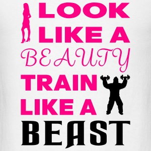 Beauty Beast Tanks - Men's T-Shirt