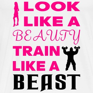 Beauty Beast Tanks - Men's Premium T-Shirt