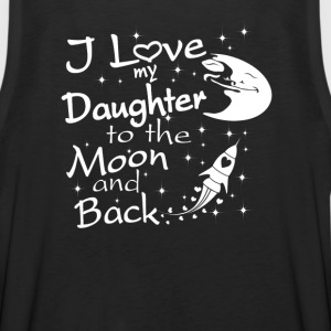 I Love My Daughter to the Moon and Back - Men's Premium Tank