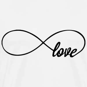 love infinity Hoodies - Men's Premium T-Shirt