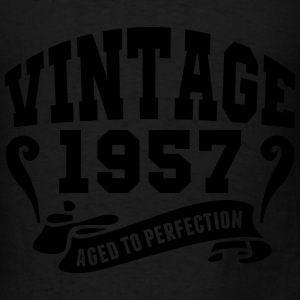 Vintage 1957 Aged To Perfection Hoodies - Men's T-Shirt