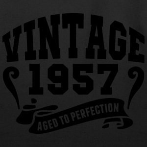 Vintage 1957 Aged To Perfection Hoodies - Eco-Friendly Cotton Tote