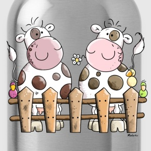 Two Happy Cows Kids' Shirts - Water Bottle