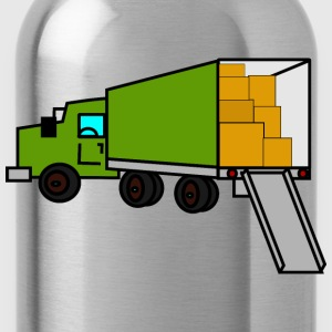 moving truck - Water Bottle