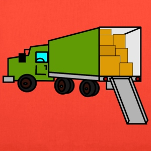 moving truck - Tote Bag