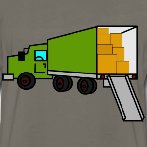 moving truck - Men's Premium Long Sleeve T-Shirt