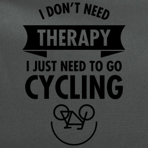 I Don't Need Therapy - I Just Need To Go Cycling T-Shirts - Computer Backpack