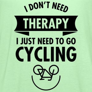 I Don't Need Therapy - I Just Need To Go Cycling T-Shirts - Women's Flowy Tank Top by Bella