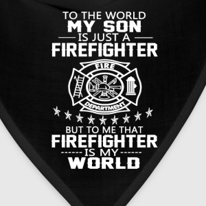 MY SON IS FIREFIGHTER - Bandana