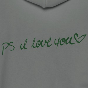 PS I LOVE YOU T-shirts - Veste à capuche unisexe American Apparel