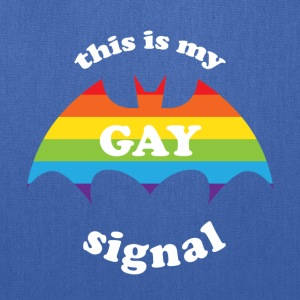 this is my gay signal LGBT Pride Rainbow Flag Women's T-Shirts - Tote Bag