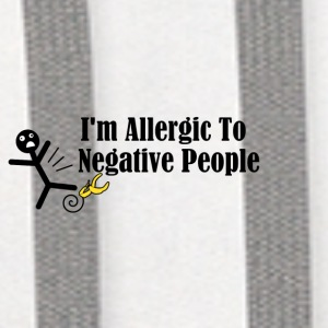 I'm Allergic To Negative People - Contrast Hoodie
