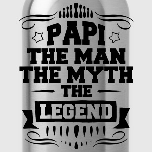 Papi - The Man The Myth The Legend T-Shirts - Water Bottle