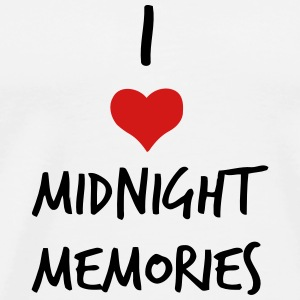 I LOVE MIDNIGHT MEMORIES Tanks - Men's Premium T-Shirt