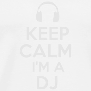 KEEP CALM I'M A DJ Other - Men's Premium T-Shirt