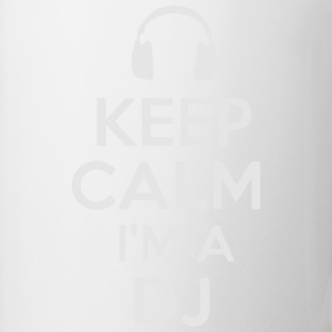 KEEP CALM I'M A DJ Polo Shirts - Coffee/Tea Mug
