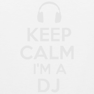 KEEP CALM I'M A DJ Polo Shirts - Men's Premium Tank