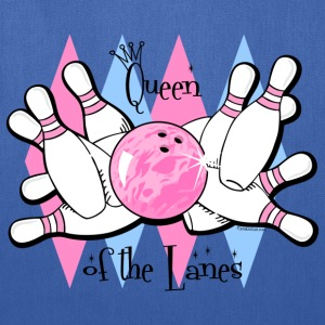 Queen of the Lanes Women's T-Shirts - Tote Bag