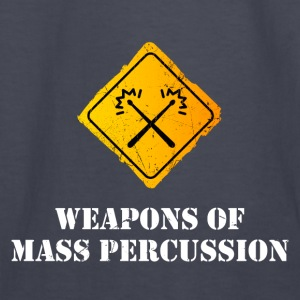 Weapons of Mass Percussion Hoodies - Kids' Long Sleeve T-Shirt