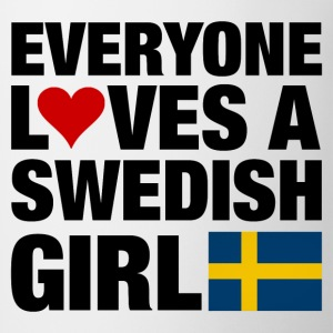 Everyone Loves a Swedish Women's T-Shirts - Coffee/Tea Mug