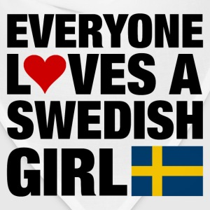 Everyone Loves a Swedish Women's T-Shirts - Bandana